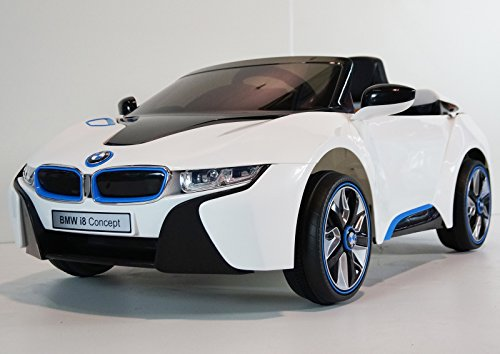 upgraded kids 12v official bmw i8 concept battery operated. Black Bedroom Furniture Sets. Home Design Ideas