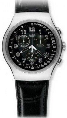 Swatch Irony Chrono Your Turn Black Men's watch (Irony Chrono Watch)