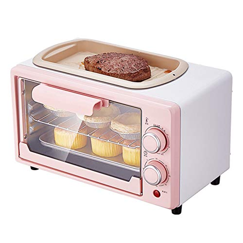 10L Mini Oven Electric Oven Frying and Baking Integrated Household Baking Small Multifunctional Automatic A