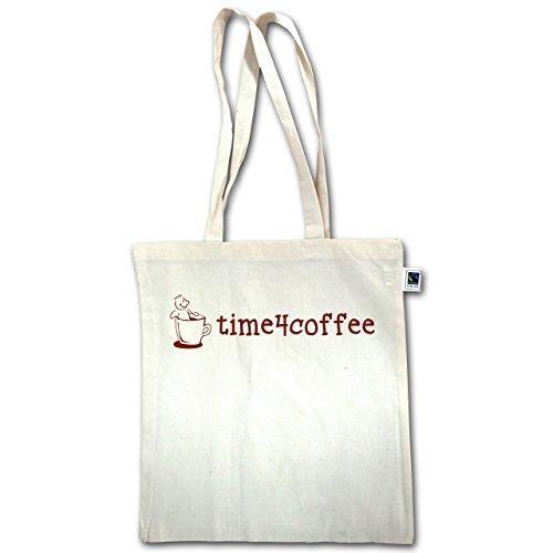 Küche - Time4Coffee - Unisize - Natural - XT600 - Jutebeutel lange Henkel ASmISJJp7