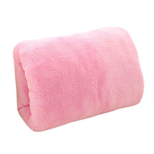 USB Hand Warmer Handwarmer Pocket Waterless Warm Hand Tools Soft Pillow Pink
