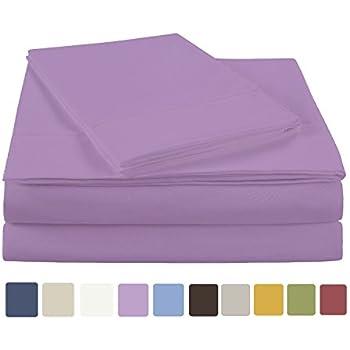 nc home fashions ehf ultra soft microfiber solid sheet set twin xl lupine