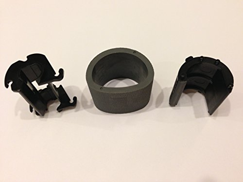 Samsung Pick Up Roller JC73–00309A with all plastic parts(JC61-02389A, JC61-04120A or JC61-02397A) for CLP 310 315 320 325 360 365 CLX 3300 3305 including all N W FN FW models and Xpress C410W C460W C460FW 360 365 CLX 3300 3305 Xpress SL-C410W C460W C46