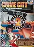 2 CD ROM Games: Laura Bow - Dagger of Amon Ra and Crime City