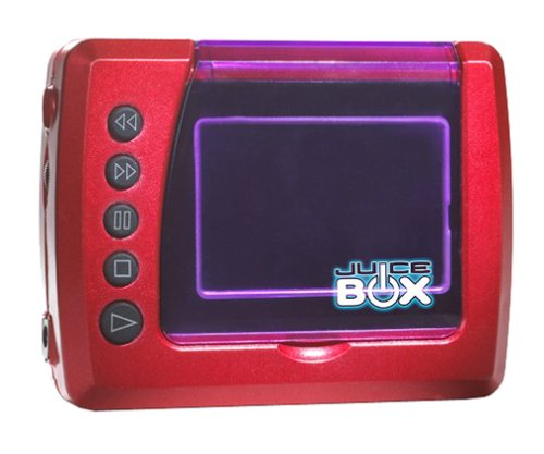 Juice Box Personal Media Player - Red -