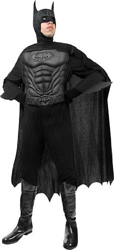 Adult's Muscle Chest Batman Halloween Costume