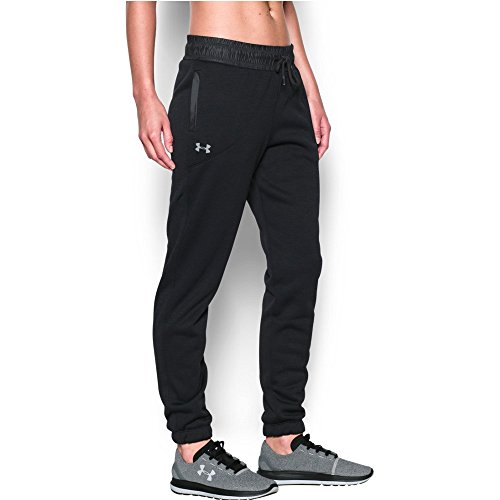 Under Armour Women's Storm Swacket Pant, Black/Black, Medium
