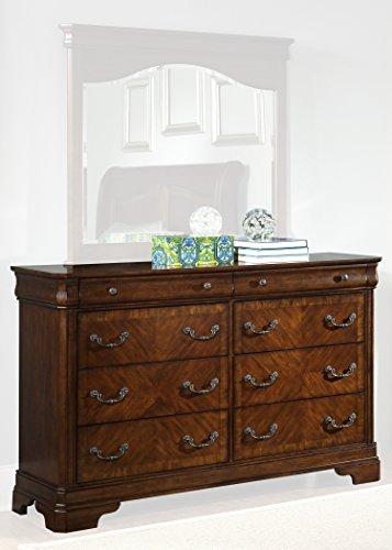 Liberty Furniture Industries 722-BR31 Alexandria 8-Drawer Dresser 64