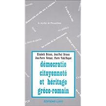 democratie, citoyennete et heritage greco-romain