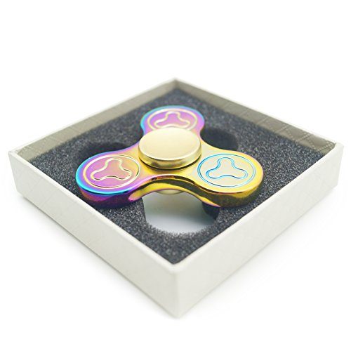 Aluminum alloy Colorful Hand finger spinner High Speed ADHD Focus Anxiety Stress Relief Toys
