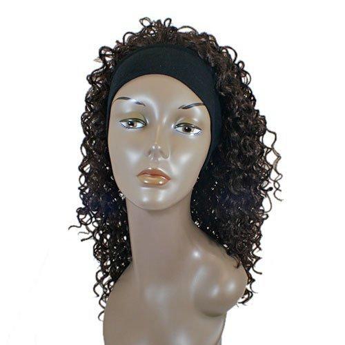 JUNEE FASHION Synthetic Wig - IFANI (# FS1B/30 - Off Black/Medium Brown)