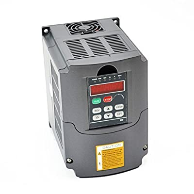 CNC 2.2kw 2200w 10a 220 to 250v VFD Variable Frequency Drive Inverter High Quality 3hp Auto Voltage Regulation (Avr) Technique for Ensuring the Inverter Load Capability