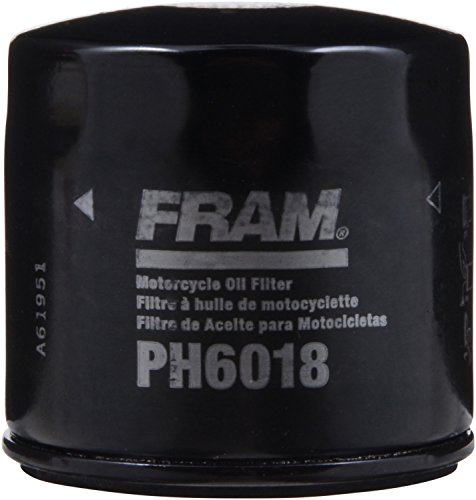 2009 Suzuki Boulevard 800 - FRAM PH6018 Black Oil Filter