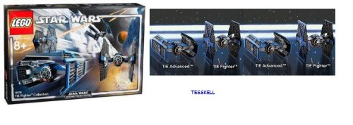 LEGO Star Wars 10131: Tie TM Collection (Ultimate Collector Series):  Amazon.co.uk: Toys & Games