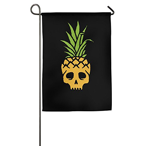 (Fruit Pineapple Skull Logo House Flags Garden Flag (2 Size))