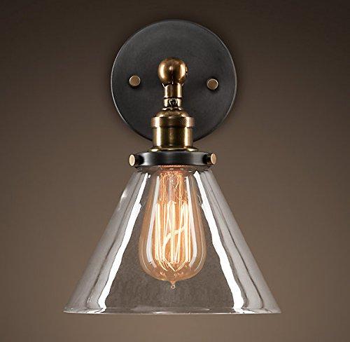 compra meglio FAYM - In Stile Country Personalità Creative Bar In In In Vetro Illuminazione Lampada Da Parete Lampada Da Parete  nuovo stile