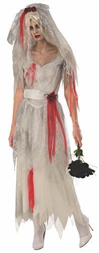 Rubie's Women's Standard Ghost Bride, As Shown,