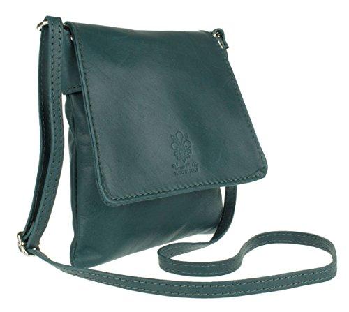 Tracolla Girly Dark Handbags A Teal Renata Donna Borsa nfn8RIr