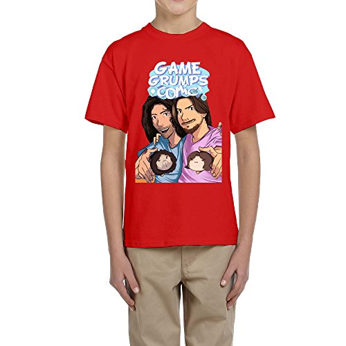 Refire Game Grumps Comic Kid's Game Grumps Comic Cotton Tshirts