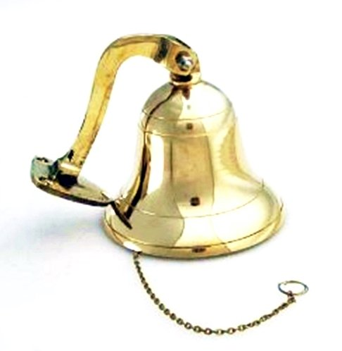 - Brass Polished Ship Bell 4