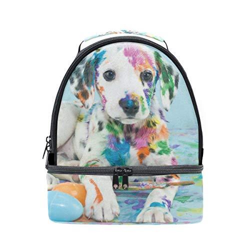 para para Bolsa escuela hombro con almuerzo de ajustable para aislamiento el pincnic la correa de perro y Alinlo qpwtv1ZAft