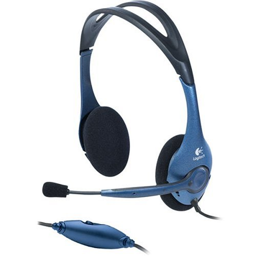 (Logitech Premium Stereo Headset with Noise-Canceling Microphone)