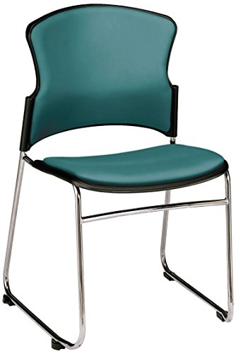 Multi Use Vinyl Seating (OFM Contract Anti-Microbial Vinyl Stack Chair, Teal)