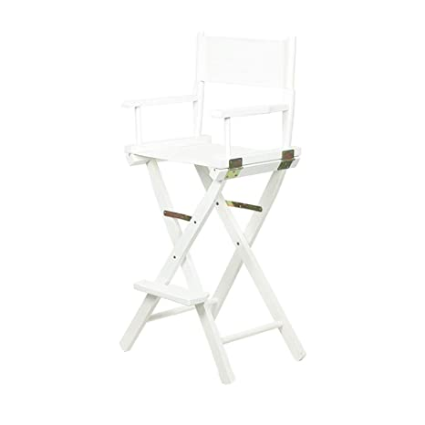 Swell Amazon Com Bar Stool Colorful Canvas Folding Chair White Ncnpc Chair Design For Home Ncnpcorg