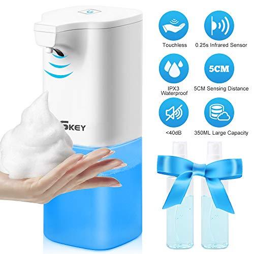 🥇 Dispensador de jabón automático eléctrico