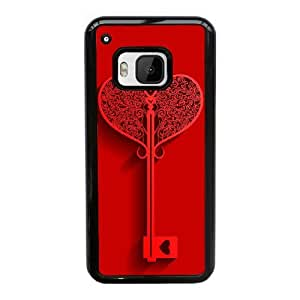 Open My Heart Image On Back Phone Case For HTC One M9