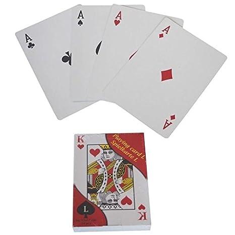 XXL 54 hojas francés juego de cartas juego de cartas de ...