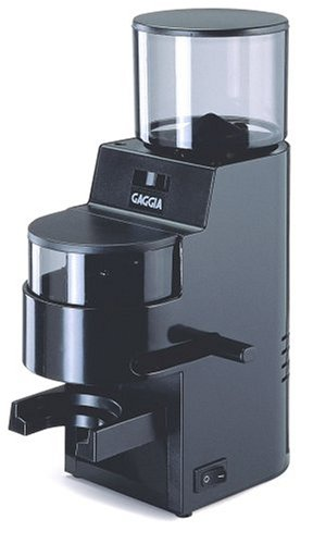 Gaggia 8002 MDF Burr Grinder with Doser, Black
