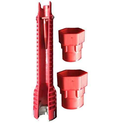 IslandseMultifunctional Faucet and Sink Installer Tool Model 2019 Under Plumbing Red