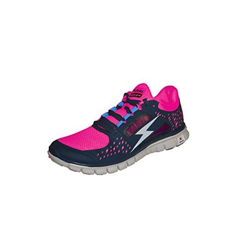 Zeus Hemes Herren Schuhe Training Walking-Schuh Relax Blau-Fuchsie (42)