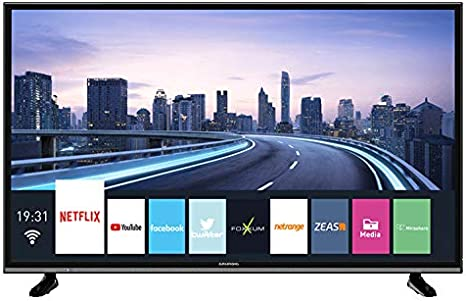 Grundig 49 VLX 7850 BP - TV: 366.11: Amazon.es: Electrónica