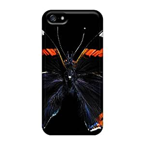 Iphone 5/5s A Beautiful Butterfly Print High Quality Frame Cases Covers
