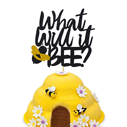 What Will It Bee Cake Topper Gender Reveal