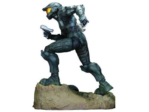 Halo 3 Exclusive 12 Inch Deluxe Steel Spartan ARTFX Vinyl Statue (Halo 3 Master Chief 12 Inch Action Figure)