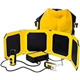 WakaWaka WWB10-YLW-S Base 10 Solar Power & Light Kit - 10000mAh Power Bank, 10W Solar Panel, and Accessories