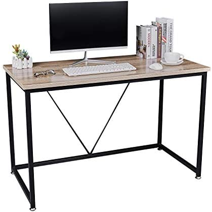 NXN-HOME Computer Desk,Modern Simple Study Writing Table,Sturdy Workstation