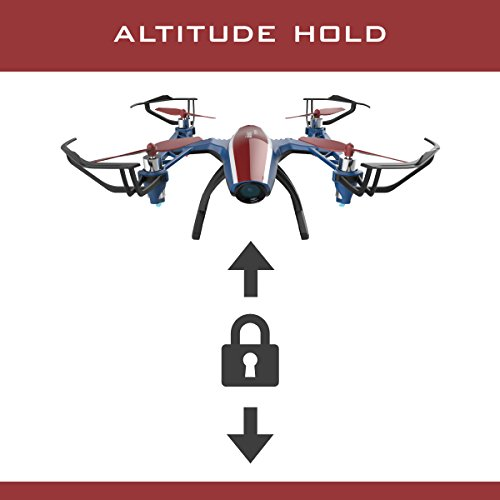 """Force1 U28W Peregrine"""" VR Ready WiFi FPV Drone for Kids + Adults w/ SD Card for Camera Drone for Beginners"""