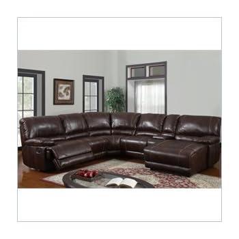 Global Furniture USA U1953-SECTIONAL Global Furniture Piece 6 Pcs Sectional Brown 940