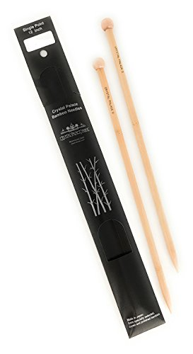 Crystal Palace Bamboo 12 Inch Single Point Knitting Needles (US Size 0)