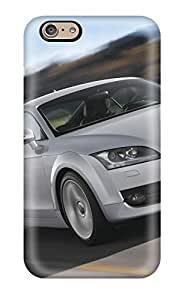 DanRobertse Case Cover Protector Specially Made For Iphone 6 Audi Photo Tt(3D PC Soft Case)