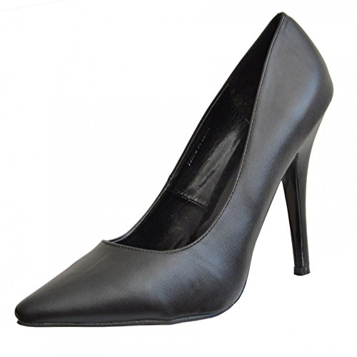 Heel 9 Sizes 12 Black New Shoes Toe Womens Drag 924 Mens HIGH Queen Pointy Big Matte Cross 11 BS12924 10 Court UK Dresser 81wSH6wa