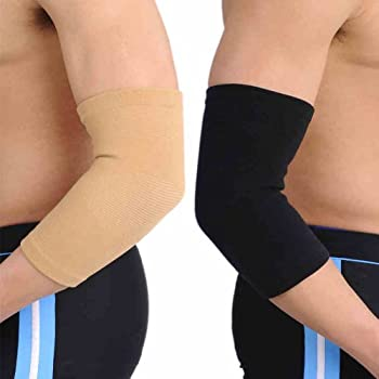 GOGO Elastic Elbow Support, Joint Warming-Black-Small