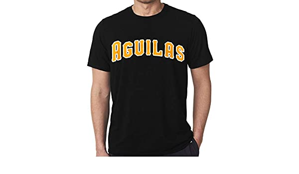 Amazon.com : Aguilas del Cibao - Classic Black T-Shirts : Sports & Outdoors