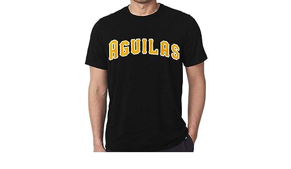 Amazon.com : Aguilas del Cibao - Classic Black T-Shirts ...