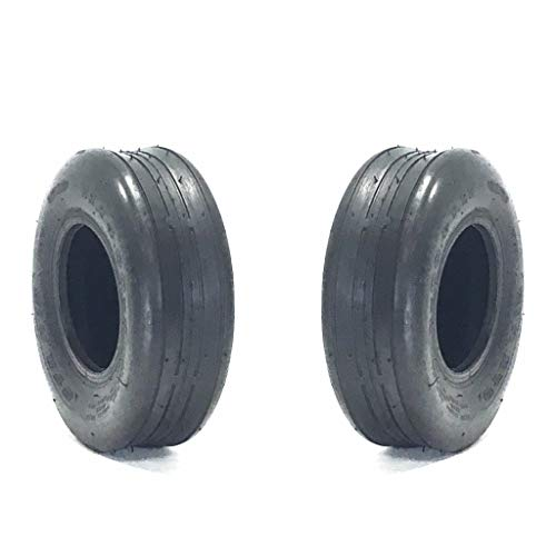 (2) 11x4.00-5 Ribbed Tire 11x4x5 - Tires Ribbed