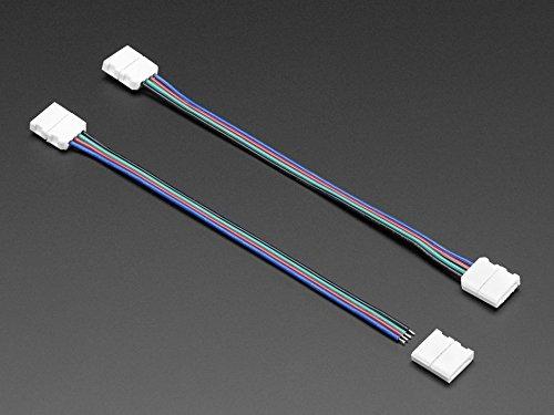 Adafruit Solderless Analog RGB LED Strip Clip Sampler [ADA10